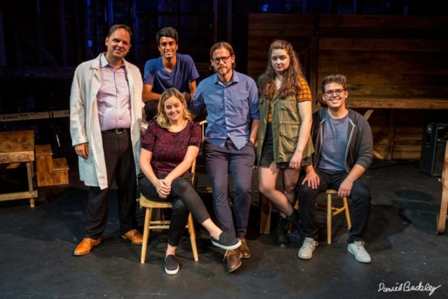 Gaelen and cast of Next to Normal (Holmdel Theatre Company)