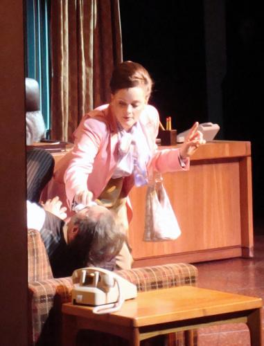 Gaelen Gilliland as Judy in 9 to 5