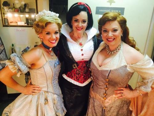 Gaelen as Snow White in Disenchanted! (Off-Broadway)