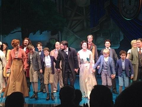 Gaelen in the cast of Finding Neverland at A.R.T.