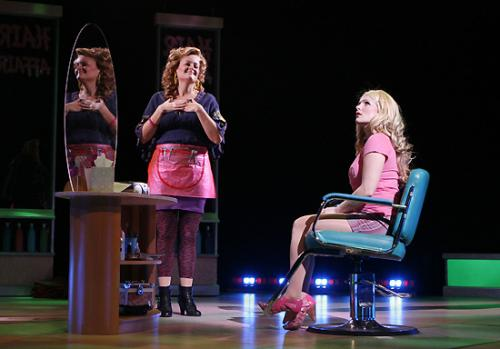 Gaelen Gilliland as Paulette at the North Shore Music Theatre production of Legally Blonde