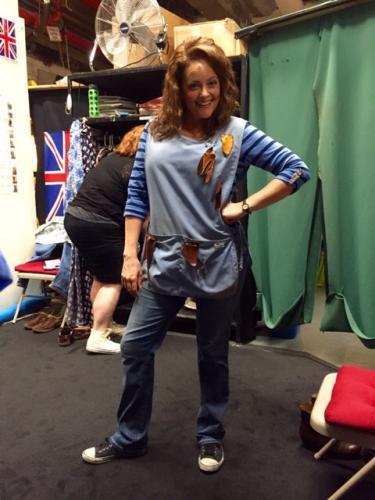 Gaelen as Maggie in Kinky Boots (Broadway)