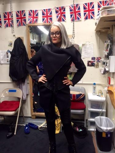 Gaelen as the Milan Stage Manager in Kinky Boots (Broadway)