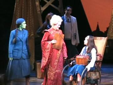 Gaelen Gilliland as Madame Morrible in Wicked