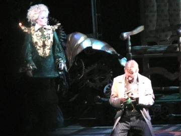 Gaelen Gilliland as Madame Morrible in Wicked