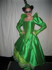 Gaelen Gilliland as an Ozian in Wicked